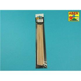 Aber WR5 Pręty drewniane 0,5 mm długoć 245mm x 6 szt