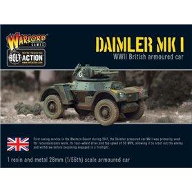 Bolt Action Daimler Armoured Car