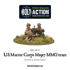 Bolt Action USMC M1917 MMG team
