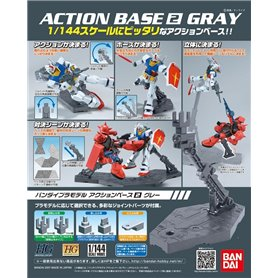 Bandai 05408 Action Base 2 Grey GUN85588
