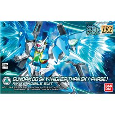 Bandai 1:144 GUNDAM 00 SKY - HIGHER THAN SKY PHASE - RIKU'S MOBILE SUIT
