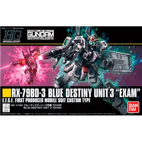 Bandai 22620 HGUC 1/144 Blue Destiny Unit 3 Exam GUN80573