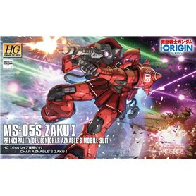 Bandai 29745 HG 1/144 Ms-05S Zaku I (Char Aznable Custom) GUN84188