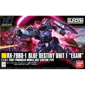 Bandai 67402 HGUC 1/144 Blue Destiny Unit 1 Exam GUN83907