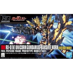 Bandai 87800 HGUC 1/144 Unicorn Gundam 02 Banshee Norn (D.M.) GUN58780