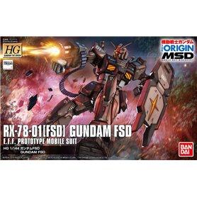 Bandai 57301 HG 1/144 Rx-78-01(Fsd) Gundam Fsd GUN82232