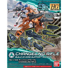 Bandai 57325 Act HG 1/144 Changeling Rifle GUN81113