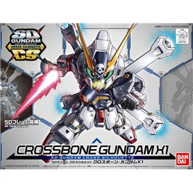 Bandai 57639 SD Gundam Cross Silhouette Crossbone Gundam X1 GUN81350
