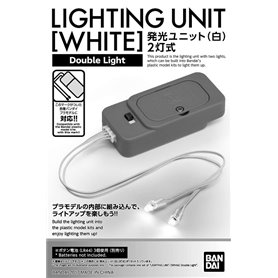 Bandai 58992 Act Gunpla Lightning Unit White (Double Light) GUN55899