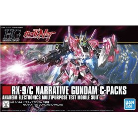 Bandai 67604 HGUC 1/144 Rx-9/C Narrative Gundam C-Packs GUN85138
