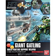 Bandai HG 1:144 GIANT GATLING - BUILD FIGHTERS SUPPORT WEAPON