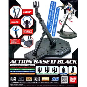 Bandai 80092 Action Base 1 Black GUN58009