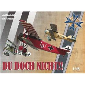 Eduard 1:48 DU DOCH NICHT - Albatros D.V + Fokker Dr.I + Fokker D.VII - LIMITED EDITION