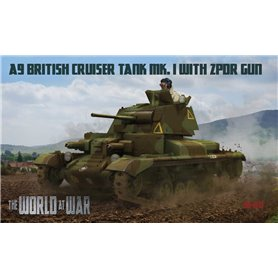 IBG The World At War No011 A9 British Cruiser Tank