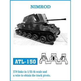 Friulmodel 1:35 Gąsienice metalowe Nimrod
