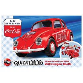 Airfix Quickbuild - Coca-Cola VW Beetle
