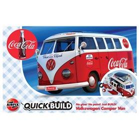 Airfix Quickbuild - Coca-Cola VW Camper Van