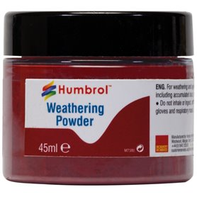 Humbrol AV0016 Weathering Powedr Iron Oxide - 45 ml