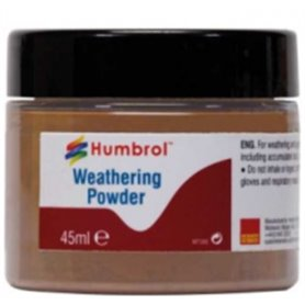 Humbrol AV0017 Weathering Powedr Dark Earth - 45 ml