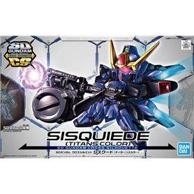 Bandai 70109 SD+E23 Gundam Cross Silhouette Sisquiede Titans Color GUN85309 [ ]