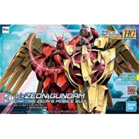 Bandai 82201 HGBD:R 1/144 V-Zeon Gundam GUN58220