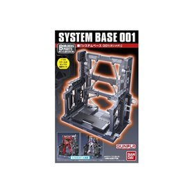 Bandai 82843 Action Base Bp System Base 001 [Gun Metallic] GUN58284