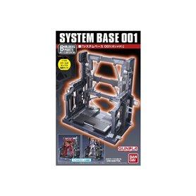 Bandai 82843 Action Base Bp System Base 001 [Gun Metallic] GUN58284