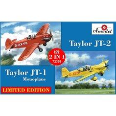 Amodel 1:72 Taylor JT-1 (G-BKHY) + Taylor JT-2 (G-BFID) - 2IN1