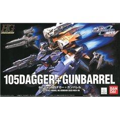 Bandai HG 1:144 105 DAGGER + GUNBARREL