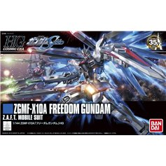 Bandai HG 1:144 ZGMF-X10A FREEDOM GUNDAM - Z.A.F.T. MOBILE SUIT