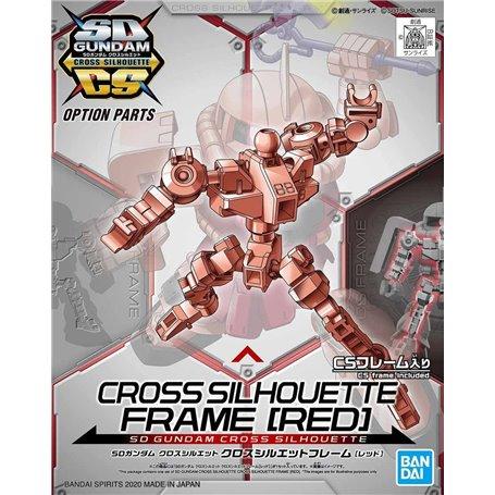 Bandai 88630 SD Gundam Cross Silhouette Frame [Red] GUN58863