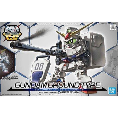 Bandai 76149 SD Gundam Cross Silhouette Gundam Ground Type GUN85338
