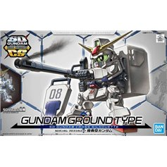 Bandai SD GUNDAM CROSS SILHOUETTE GUNDAM GROUND TYPE