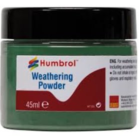 Humbrol AV0015 Waethering Powder Chrome Oxide Green - 45ml
