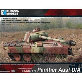Rubicon Models 1:56 Pz.Kpfw.V Panther Ausf.D / Ausf.A