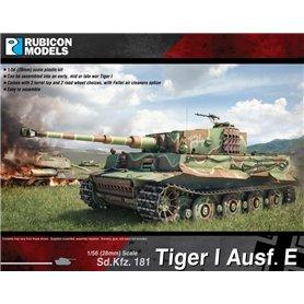 Rubicon Models 1:56 Pz.Kpfw.VI Tiger I Ausf.E