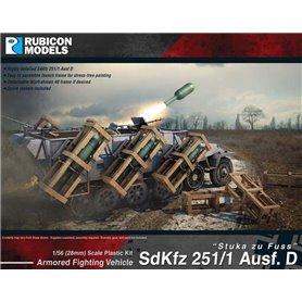 Rubicon Models 1:56 SdKfz 251D Stuka zu Fuss
