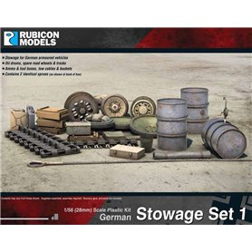 Rubicon Models 1:56 German Stowage Set 1