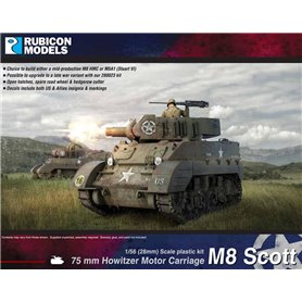 Rubicon Models 1:56 M8 Scott / M5A1