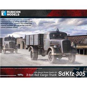 Rubicon Models 1:56 Sd.Kfz.305 Opel Blitz - 3-TON 4X2 CARGO TRUCK