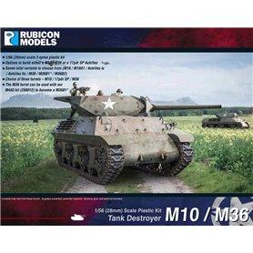 Rubicon Models 1:56 M10 Wolverine / M36 Jackson - TANK DESTROYER