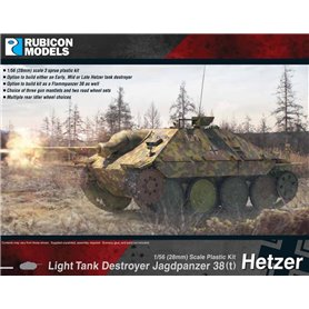 Rubicon Models 1:56 Jadgpanzer 38(t) Hetzer - LIGHT TANK DESTROYER