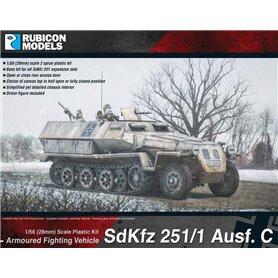 Rubicon Models 1:56 SdKfz 251/1 Ausf C (aka 251C)