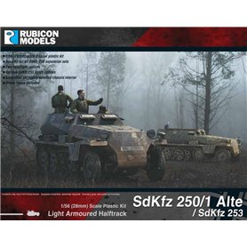 Rubicon Models 1:56 Sd.Kfz.250/1 Alte / Sd.Kfz.253 - LIGHT ARMOURED HALF-TRACK