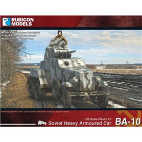 Rubicon Models 1:56 BA-10 Heavy Armoured Car