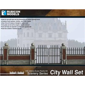 Rubicon Models 1:56 City Walls