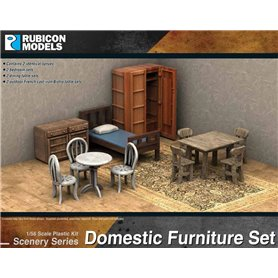 Rubicon Models 1:56 Domestic Furniture Set