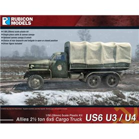 Rubicon Models 1:56 Allies US6 U3/U4 2½ ton 6x6 Truck