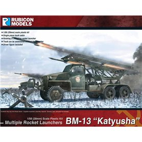 "Rubicon Models 1:56 BM-13N ""Katyusha"" Rocket Launcher"