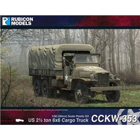 Rubicon Models 1:56 US CCKW 353 2½ ton 6x6 Truck (GMC)